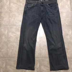 7 For All Mankind Men's Jeans Size 36x30.